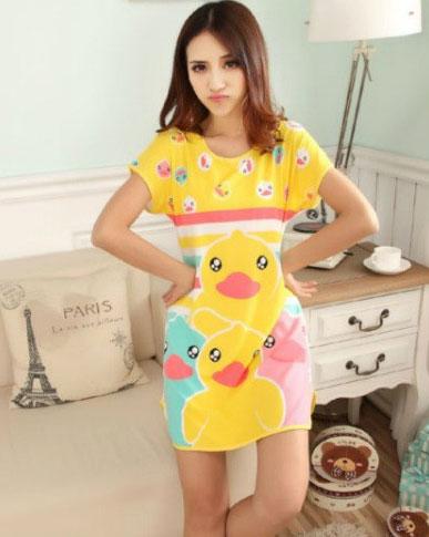 Pijama bumbac cu ratuste