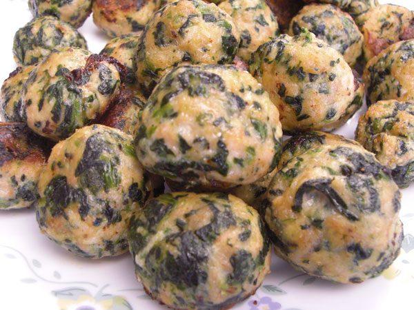 Chiftele din legume fierte