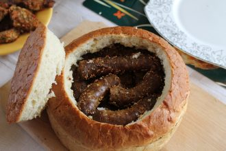 Carnati la cuptor in paine