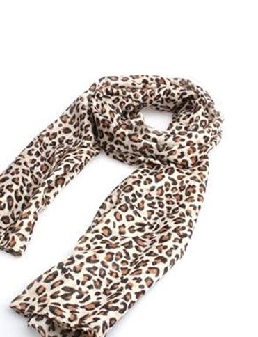 Esarfa eleganta animal print leopard