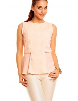 Top elegant roz deschis