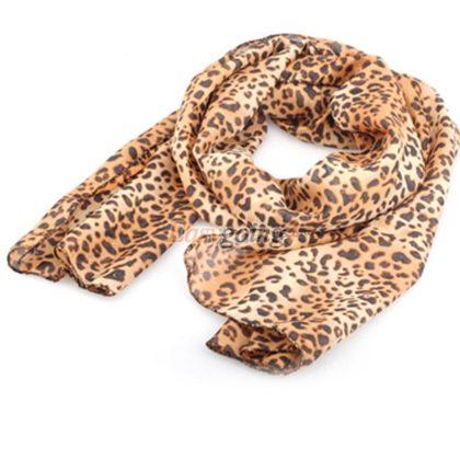 esarfa leopard print