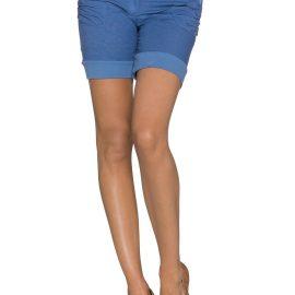 Pantaloni scurti albastru indigo
