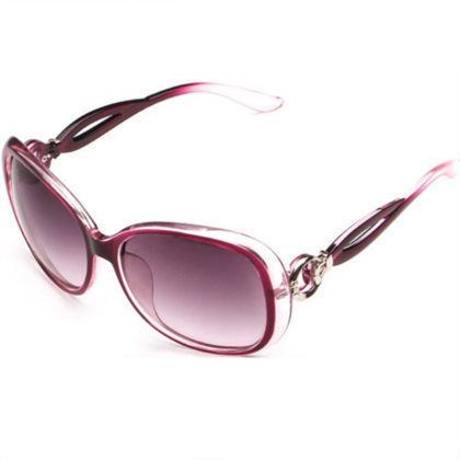 Ochelari de soare cu rama mov Retro Sunglass