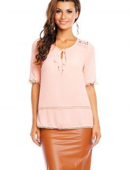 Bluza roz Attentif