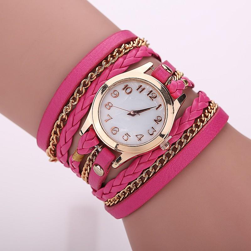 Ceas de mana roz Relogio Feminino