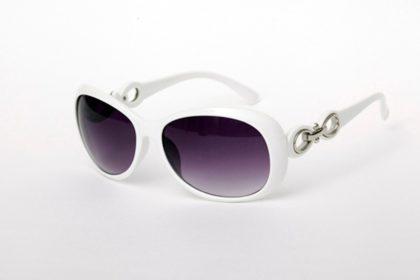 Ochelari de soare cu rama alba Vintage Sunglass