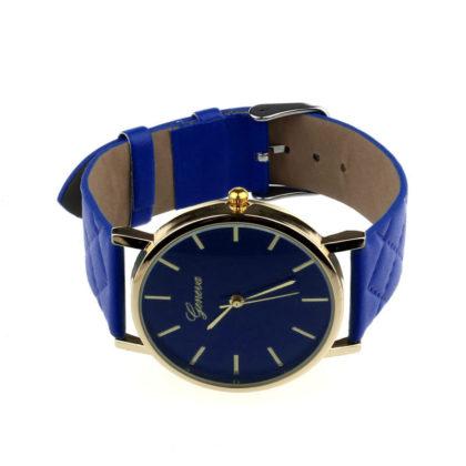 Ceas de mana Geneva albastru