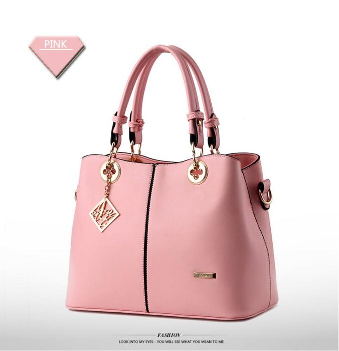 Geanta eleganta roz
