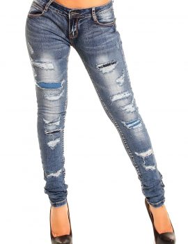 Jeans albastru Laulia