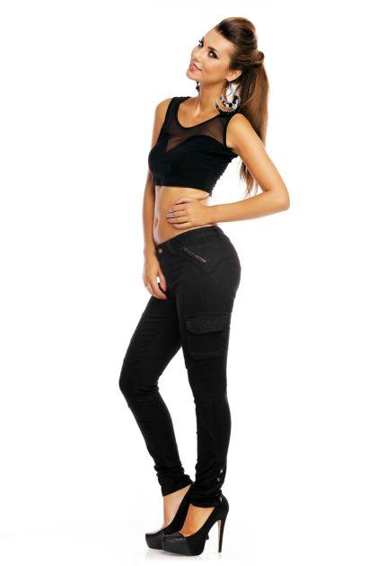 Jeans negru R.Display profil