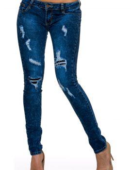 Jeans albastru inchis BY Sascha