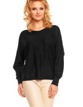 Bluza neagra Voyelles