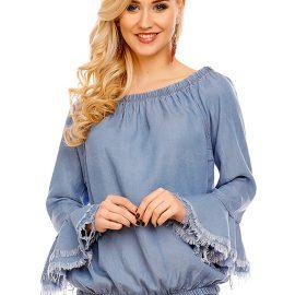 bluza albastra mayaadi