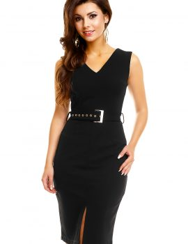 Rochie office neagra Play In