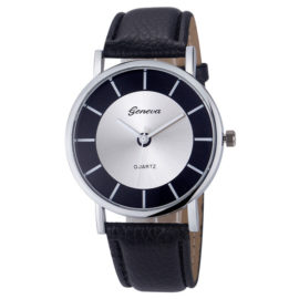 Ceas de mana analog Geneva negru