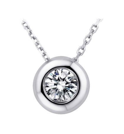 Lantisor argint 925 cristal zirconiu
