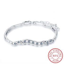Bratara argint 925 eleganta zirconiu