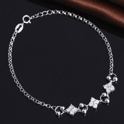 Bratara eleganta argint 925 floricica