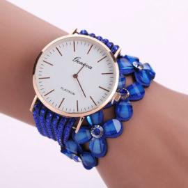 Ceas cu cristale albastre Geneva