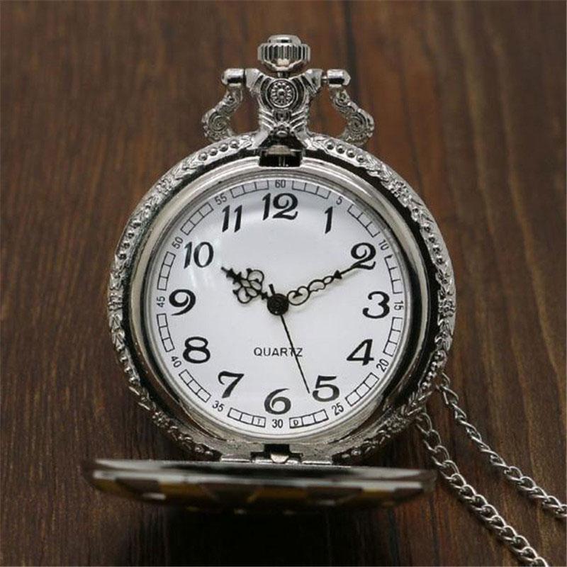 Ceas de buzunar bronz vintage