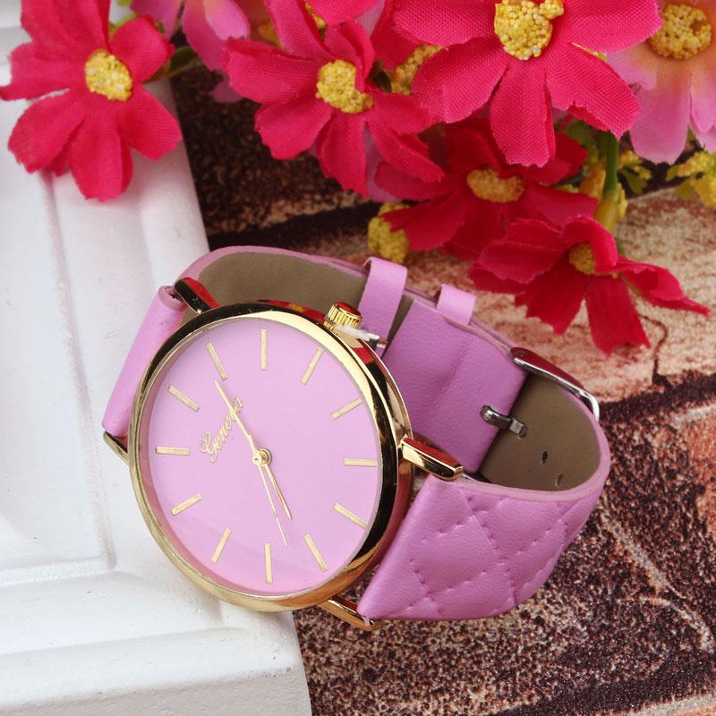 Ceas de mana Geneva roz