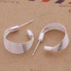 Cercei eleganti argint circulari Sara