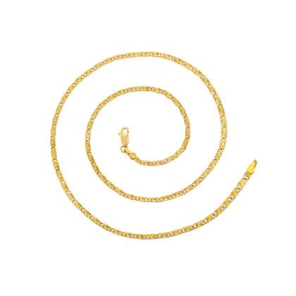Colier placat aur finut unisex