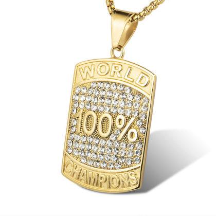 Lant placat aur 100% campion