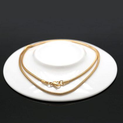 Lant unisex snur placat aur Marlary model