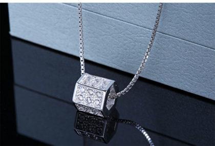 Lantisor argint 925 pandantiv cub