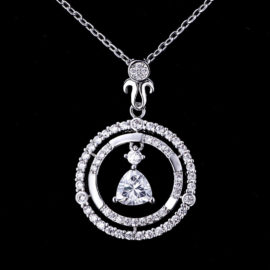 Lantisor argint 925 pandantiv zirconiu