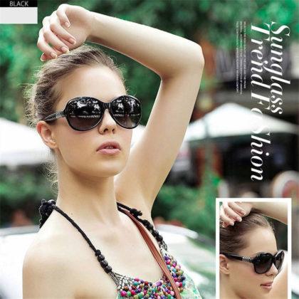 Ochelari de soare cu rama neagra Sunglasses