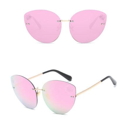 Ochelari de soare dama lentile roz Kirra