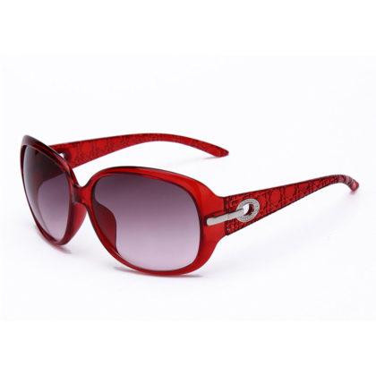 Ochelari de soare dama rame rosii Kim