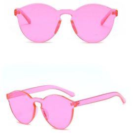 Ochelari de soare dama roz Eliza
