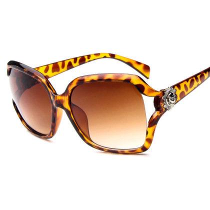 Ochelari de soare leopard print