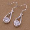 Cercei argint cu cristale Sara eleganti