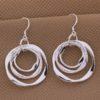 Cercei sferici eleganti argint Sara