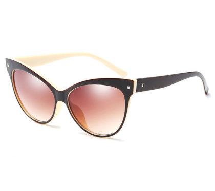 Ochelari de soare cu rama neagra Cat Eye Glasses