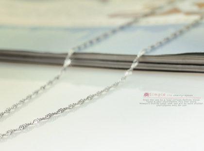 Colier argint 925 water-wave sus