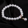 Bratara handmade cu imitatie perle albe