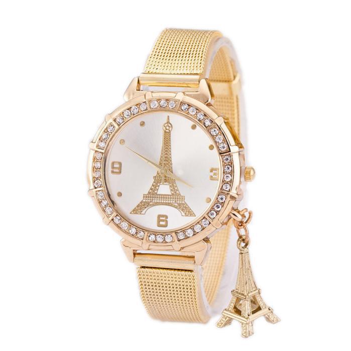 Ceas auriu Eiffel Tower