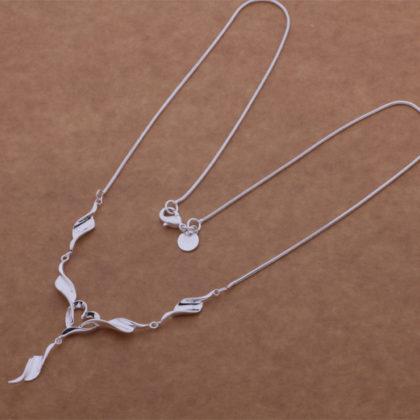Colier elegant argint Eighty-seven