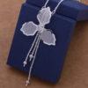 Colier pandantiv floare argint Eighty-seven