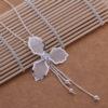 Colier pandantiv floare argint Eighty-seven profil