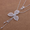Colier pandantiv floare argint Eighty-seven sus
