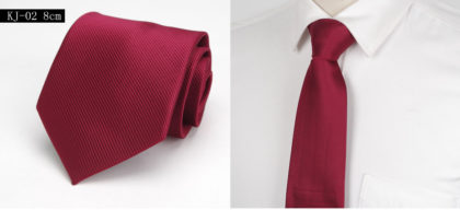 Cravata barbati eleganta bordo
