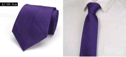 Cravata barbati eleganta mov fata