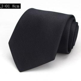 Cravata barbati eleganta neagra